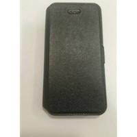 Страничен калъф тефтер за Huawei Y600 черен