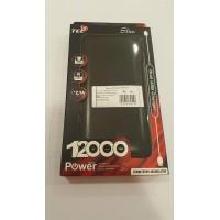 Външна батерия /външно зарядно/ Power Bank 12000 mah