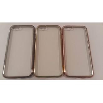 Силиконов калъф с лайсна за Iphone 6/6S