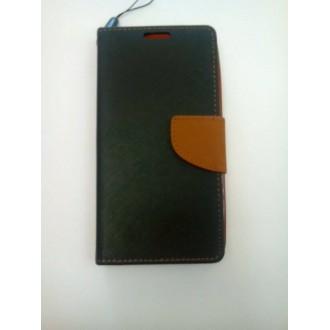 Страничен калъф тефтер за Microsoft Lumia 535 черен