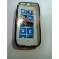 Силиконов калъф за Nokia Lumia 710 черен