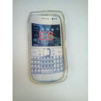Силиконов калъф за Nokia E6