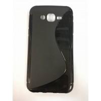 Силикон за Samsung J7 черен