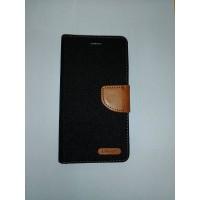 Страничен калъф за Lenovo K5 Note черен