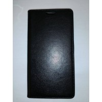 Страничен тефтер тип калъф за Lenovo Vibe P1m черен