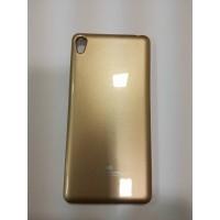 Силиконов калъф Sony Xperia E5 златен