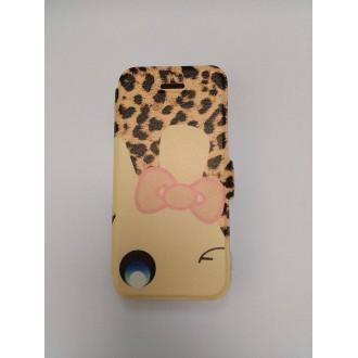 Тефтер тип калъф Iphone 5/5S ART