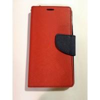 Страничен калъф тефтер LG Zero червен