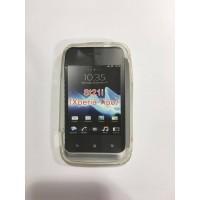 Силиконов калъф за Sony Xperia Tipo ST21 прозрачен