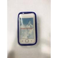 Силиконов калъф за Samsung S6802 Galaxy Ace Duos син