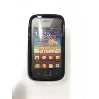 Силиконов калъф за Samsung S6802 Galaxy Ace Duos черен