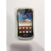 Силиконов калъф за Samsung S5300 Galaxy Pocket прозрачен