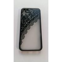 Силикон 3D iPhone 5/5s черен
