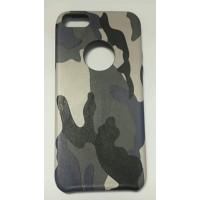 Силиконов калъф за iPhone 5\5s камуфлаж сив