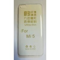 Силиконов калъф за Xiaomi MI5 0,3 mm прозрачен