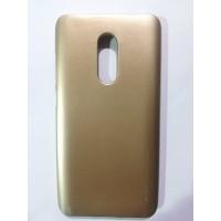 Силиконов калъф Jelly Case за Xiaomi Note 4/4x Златен