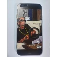 Силиконов калъф за Iphone 6/6s ART с Popsocket