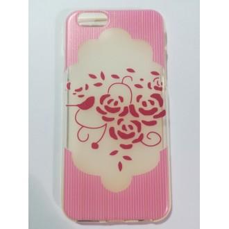 Силиконов калъф за Iphone 6/6s Рози
