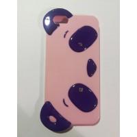 Силиконов калъф за Iphone 6/6s 3D лилава панда
