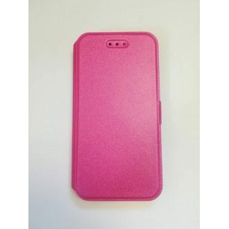Калъф тип Flip за iPhone 6/6S розов