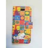 Калъф тип Flip за iPhone 5/5S Snoopy