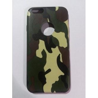 Силиконов калъф за Iphone 6/6s зелен камуфлаж