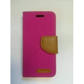 Калъф тип Flip за iPhone 5/5S розов 2