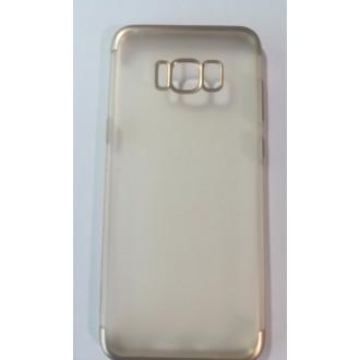 Силиконов калъф за Samsung s8 plus черен Лукс