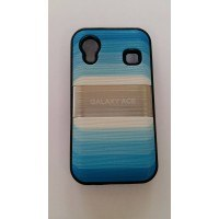 Силиконов калъф за Samsung Galaxy Ace син