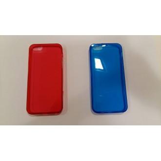 Силиконов калъф за iPhone 5/5S 0.3 mm. цветни