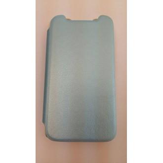 Страничен калъф тефтер за HTC Desire 310 син