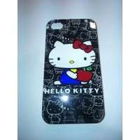 Твърд гръб за iPhone 4/4s с hello kitty
