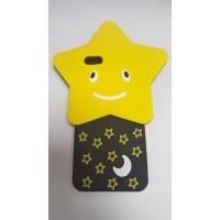 Силикон 3D за iPhone 5/5S звезда