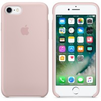 Apple iPhone 7 Silicone Case Pink Sand