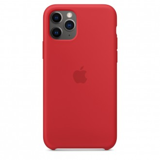 Apple iPhone 11 Pro Silicone Case MWYH2ZM/A, Red