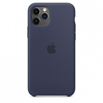Apple iPhone 11 Pro Silicone Case MWYJ2ZM/A, Midnight Blue