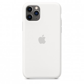 Apple iPhone 11 Pro Silicone Case MWYL2ZM/A, White
