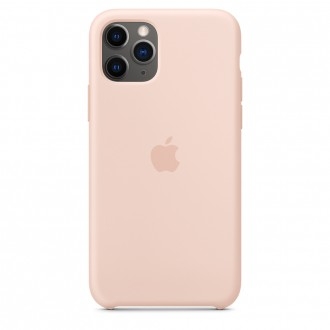 Apple iPhone 11 Pro Silicone Case MWYM2ZM/A, Pink Sand