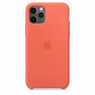 Apple iPhone 11 Pro Silicone Case MWYQ2ZM/A, Clementine