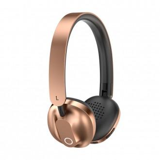 Baseus Encok D01 Wireless Bluetooth Headphones 300 mAh gold