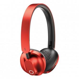 Baseus Encok D01 Wireless Bluetooth Headphones 300 mAh red