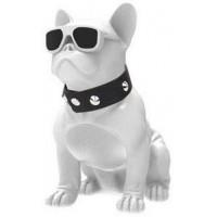 Безжична bluetooth колонка Bulldog бяла