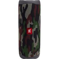 Безжична Bluetooth колонка JBL Flip 5 Wireless Speaker Водоустойчива, SQUAD