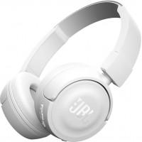 Безжични Bluetooth слушалки JBL T450BT бели