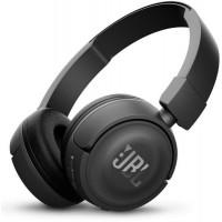 Безжични Bluetooth слушалки JBL T450BT черни