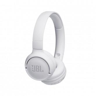 Безжични Bluetooth слушалки JBL T500BT бели