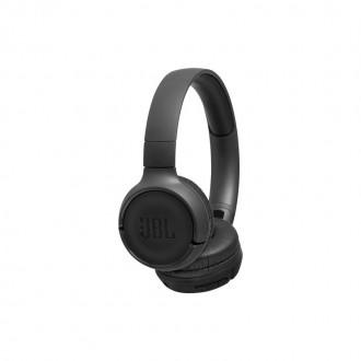 Безжични Bluetooth слушалки JBL T500BT черни