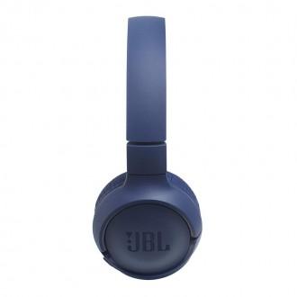 Безжични Bluetooth слушалки JBL T500BT сини