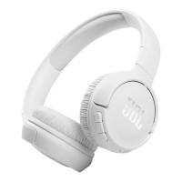Безжични Bluetooth слушалки JBL T510BT, Бели