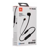 Безжични Bluetooth слушалки JBL TUNE110BT, черни
